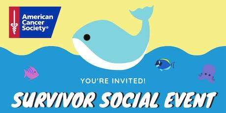 American Cancer Society Survivor Social tickets