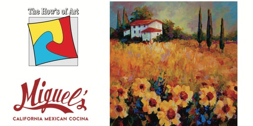 Fun Painting Night at California Mexican Cocina. FOOD & WINE INCLUDED!