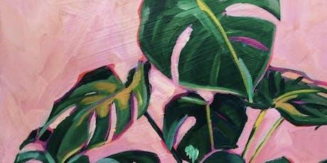 Retro Fun Acrylic Painting on canvas $40 tickets