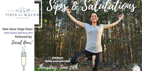 Sips & Salutations - June 27th W/ Kavita tickets