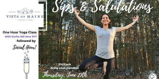Sips & Salutations - June 27th W/ Kavita