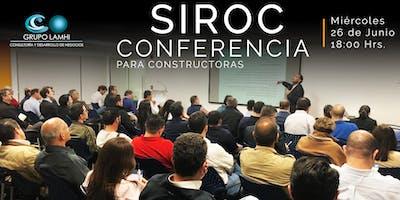 SIROC Conferencia para Constructoras