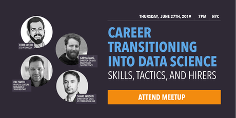 Career Transitioning Into Data Science: Skills, Tactics, and Hirers tickets
