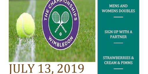 Ft. King Wimbledon Whites & Wooden Racquets