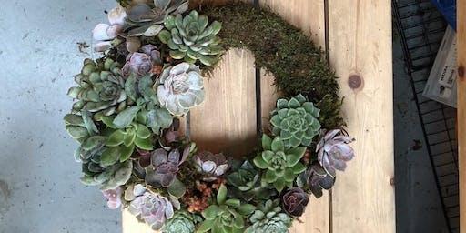 Luxury living Christmas wreath workshop
