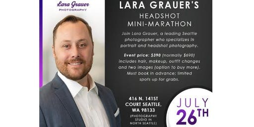 Professional Headshots by Seattle Photographer Lara Grauer