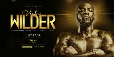 An Evening with Deontay Wilder