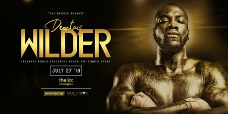 An Evening with Deontay Wilder tickets