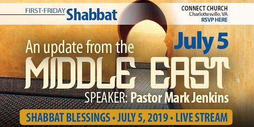 First Friday Shabbat