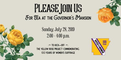 Tea at the Governor's Mansion tickets