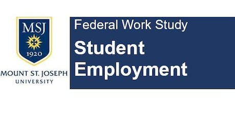 Federal Work Study -  Mentors tickets