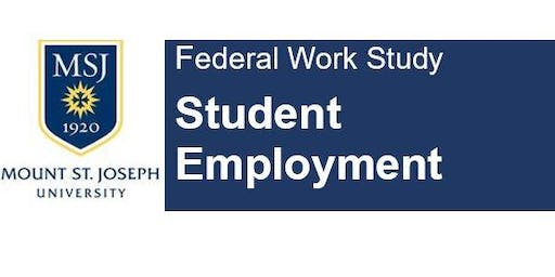 Federal Work Study -  Students