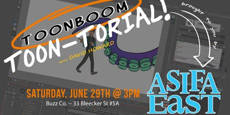 ToonBoom Demo with ASIFA East tickets