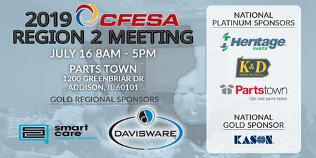 2019 CFESA Region 2 Meeting tickets