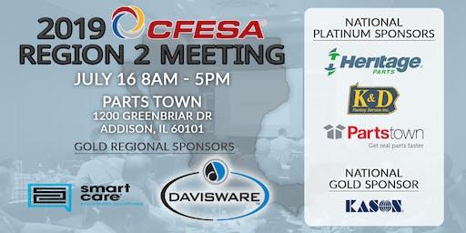 2019 CFESA Region 2 Meeting