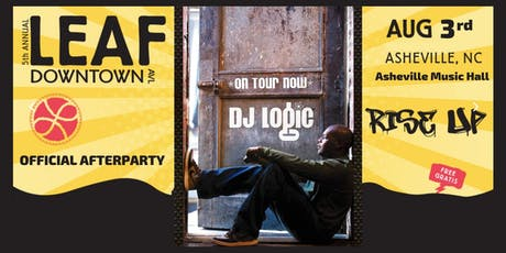 DJ Logic [Official LEAF DT Afterparty] | Asheville Music Hall tickets