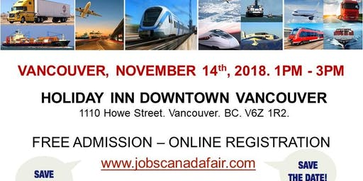 Vancouver Transportation Job Fair - November 14th, 2019