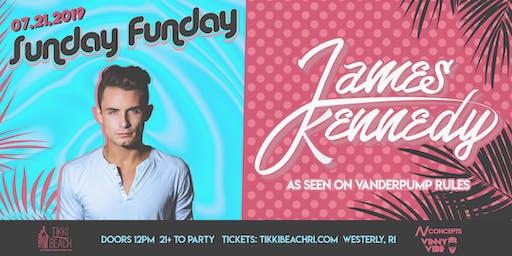 SUNDAY FUNDAY ft. JAMES KENNEDY at Tikki Beach | 7.21.19