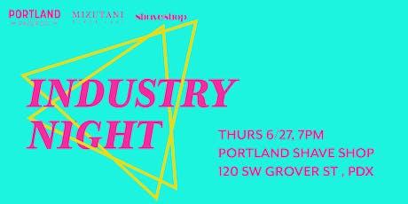 Hair Industry Appreciation Night at Portland Razor Co / Mizutani PDX tickets