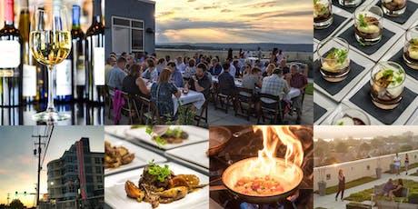 Rooftop Wine Dinner + Menu Tasting tickets