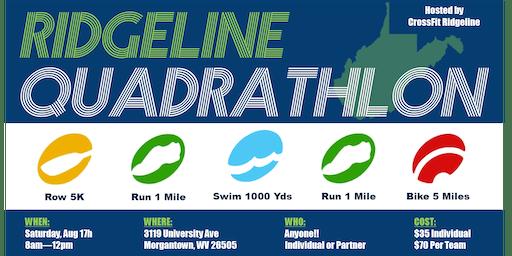 3rd Annual Ridgeline Quadrathlon