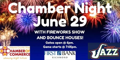 Chamber Night - Richmond Jazz Baseball tickets