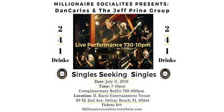 Singles Seeking Singles Event! Live Music 2-4-1 Drinks Complimentary Buffet tickets