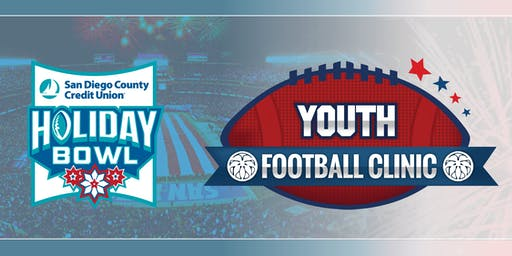 SDCCU Holiday Bowl Youth Football Clinic presented by GigaRaise