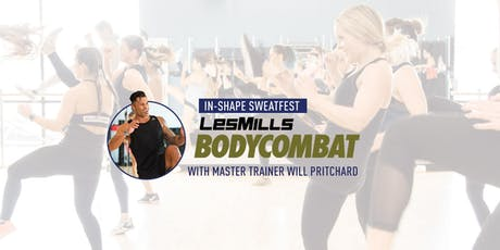 In-Shape BODYCOMBAT Sweatfest with Will Pritchard tickets