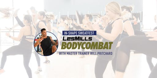 In-Shape Bodycombat Sweatfest with Will Pritchard