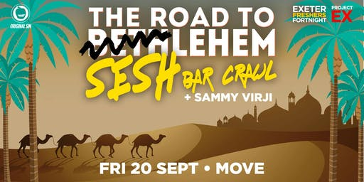 Road to Seshleham Bar Crawl