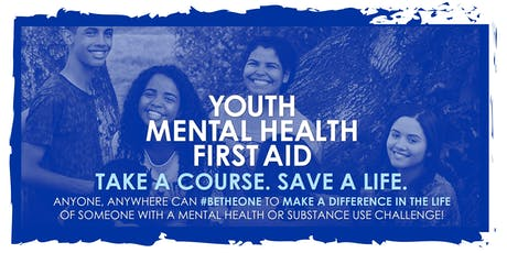 Youth Mental Health First Aid Certification tickets
