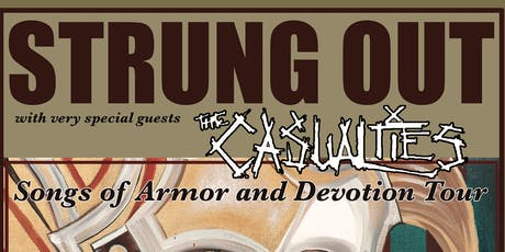 STRUNG OUT, The Casualties tickets