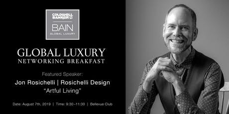 CB Bain | Global Luxury Networking | Bellevue Club | August 7th 2019 tickets