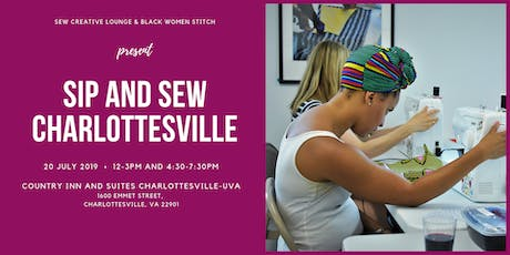 Sip and Sew Charlottesville tickets