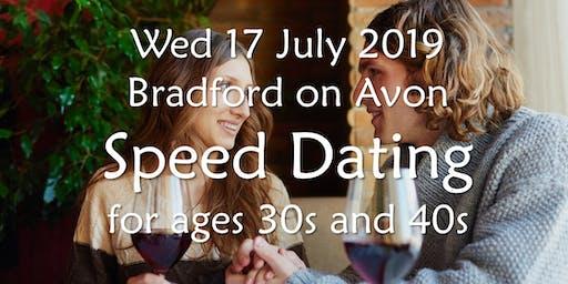 Speed Dating- Bradford on Avon (Ages 30s & 40s)- BABS (Bath & Bristol Singles)