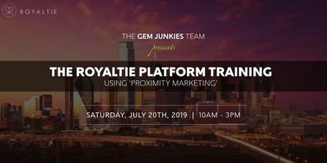 Gem Junkies Royaltie Training Event in Texas tickets