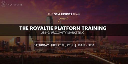 Gem Junkies Royaltie Training Event in Texas At Door