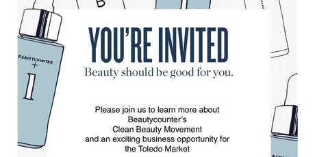 Beautycounter Toledo Opportunity Event tickets