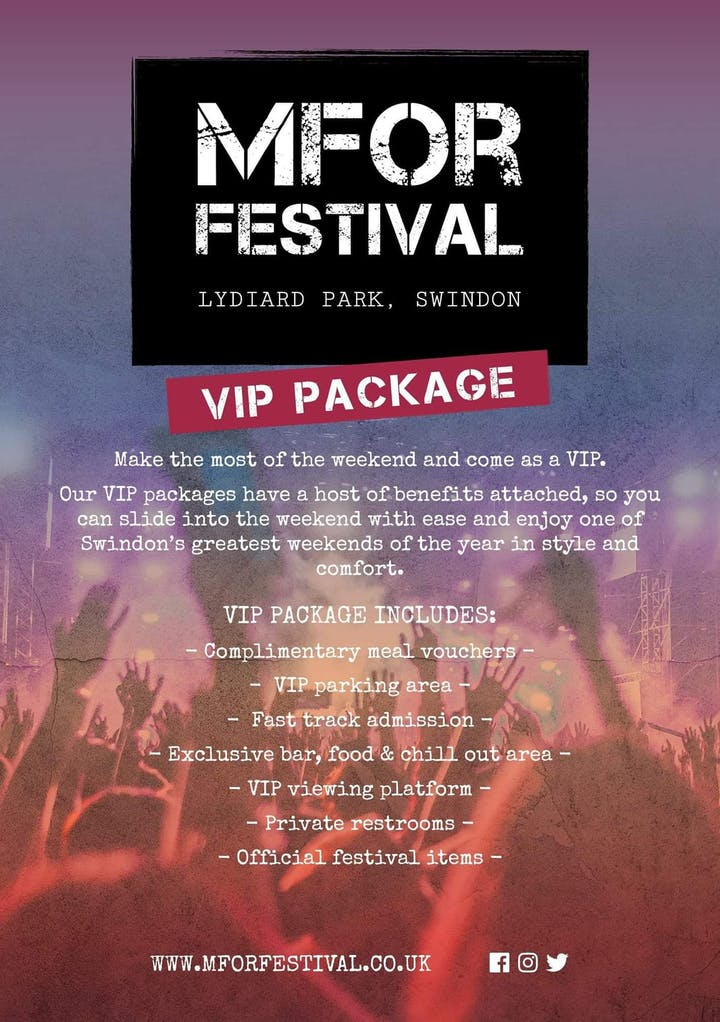 Heres our VIP package