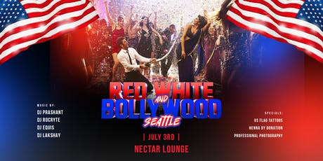 Red, White & Bollywood Jai Ho! Party tickets
