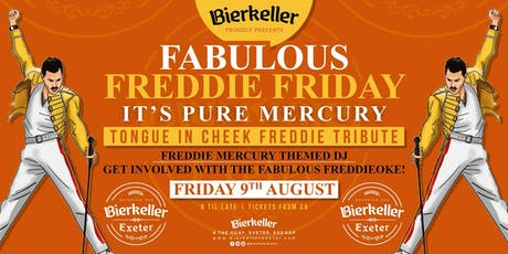 Fabulous Freddie Friday tickets