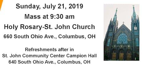 Holy Rosary-St. John Church Anniversary Celebration  tickets