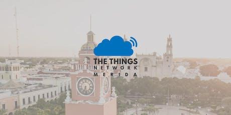 Lanzamiento Comunidad The Things Network Mérida entradas