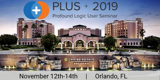 PLUS 2019 Profound Logic User Seminar