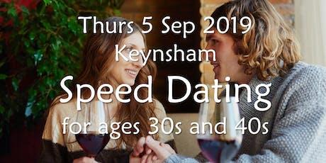Speed Dating- Keynsham (Ages 30s & 40s)- BABS (Bath & Bristol Singles) tickets