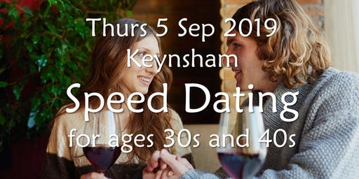 Speed Dating- Keynsham (Ages 30s & 40s)- BABS (Bath & Bristol Singles)