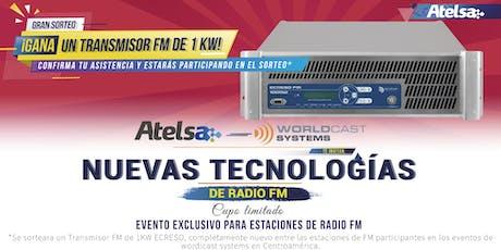 Nuevas Tecnologías en radio FM tickets