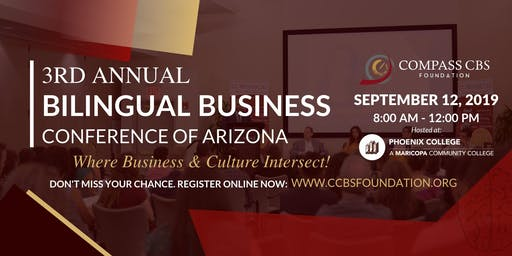 3rd Annual Bilingual Business Conference of Arizona