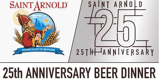 Saint Arnold 25th Anniversary Beer Dinner